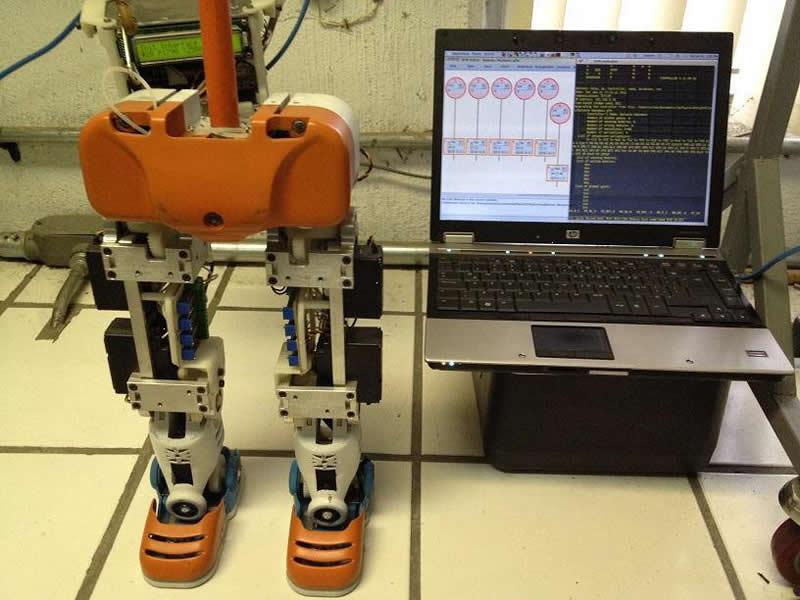 Desarrollan robot humanoide capaz de aprender por si mismo en la UdeG - robot-humanoide-guadalajara
