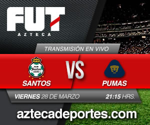 Pumas vs Santos en vivo, Jornada 13 Clausura 2014 - santos-vs-pumas-en-vivo-tv-azteca