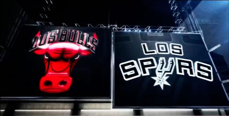 Ver la NBA en vivo por internet: San Antonio Spurs vs Chicago Bulls - spurs-vs-bulls