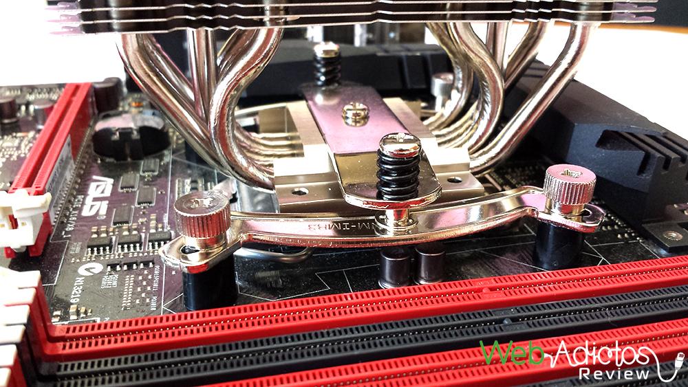 Disipador de aire, Noctua NH-U12S [Reseña] - 153