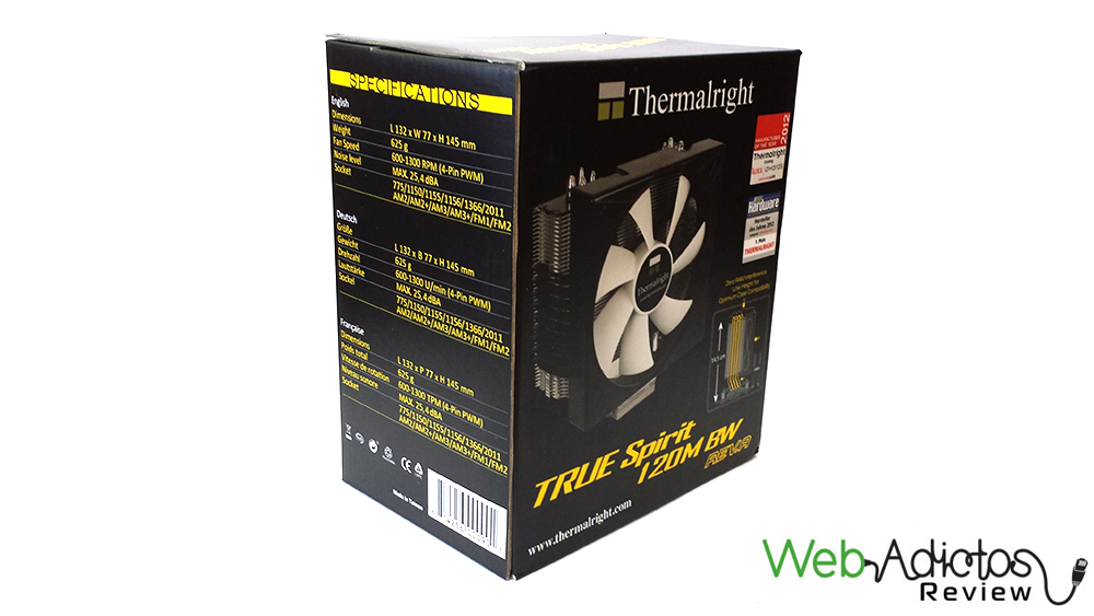 Disipador de Aire, Thermalright True Spirit 120M BW Rev.A [Reseña] - 41