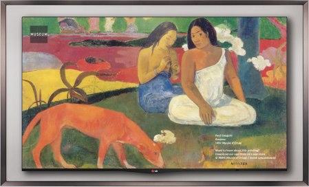 LG Gallery OLED TV 55EA8800 es presentada en México
