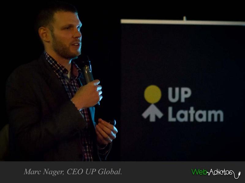 UP Latam: Dedicada a Fomentar el Emprendimiento en Latinoamérica. - Marc-Nager-CEO-UP-Global-800x600