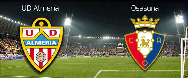 Almeria vs Osasuna en vivo, Jornada 32 Liga Española - almerica-vs-osasuna-en-vivo-2014