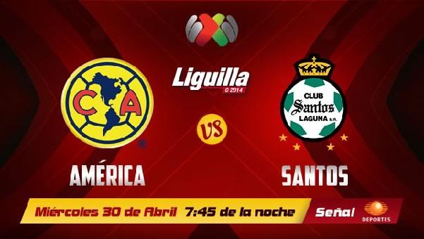 América vs Santos en vivo, Liguilla Clasura 2014 - america-vs-santos-en-vivo-liguilla-2014-televisa