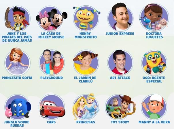 Caricaturas de Disney Junior online y gratis - caricaturas-disney