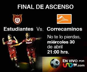 Tecos vs Correcaminos en vivo, Final Ascenso MX Clausura 2014 - estudiantes-vs-correcaminos-en-vivo-unotv
