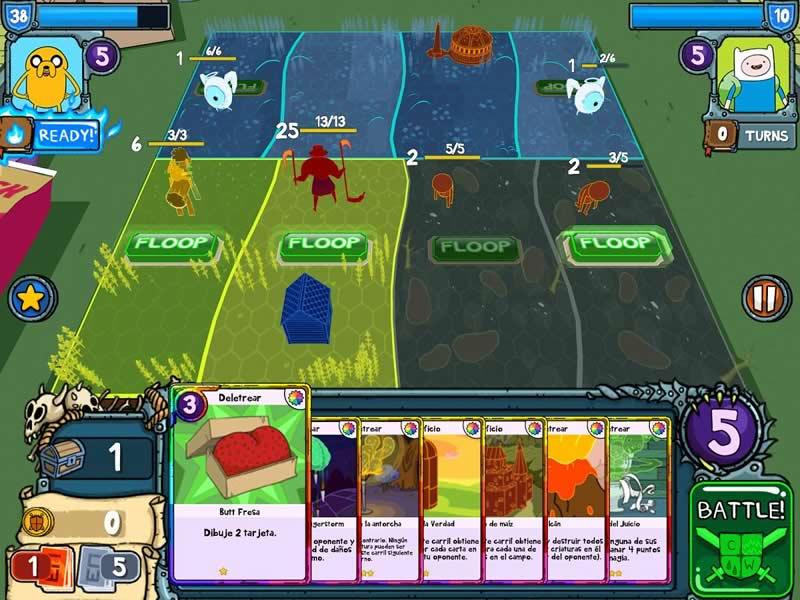 Guerra de Cartas, el nuevo juego de Cartoon Network para los fans de Hora de Aventura - guerra-de-cartas-hora-de-aventura