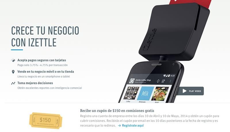 iZettle lanza promoción para que MyPyMES puedan cobrar con tarjetas de crédito estas vacaciones - izettle-cobro-tarjetas-credito