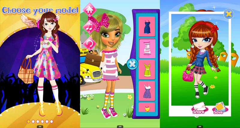 5 Juegos de vestir gratis para niñas en Android - juegos-de-vestir-dress-up-school-girls
