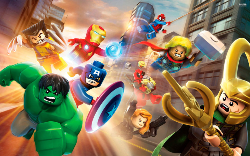 Videojuegos para regalar el día del niño - lego-marvel-super-heroes-800x500