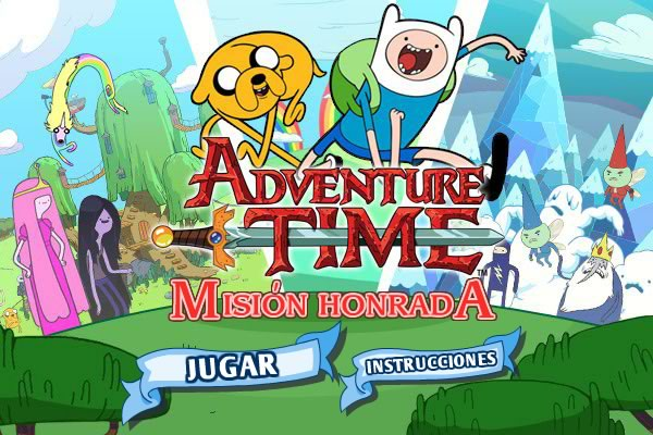 Juegos de hora de aventura en Cartoon Network - mision-honrada-hora-de-aventura