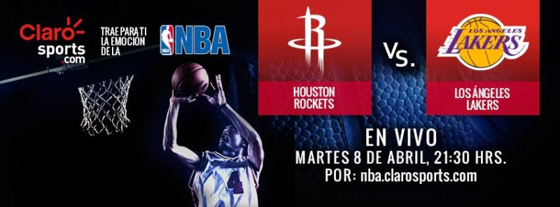 Ver la NBA en vivo: Rockets de Houston vs Lakers - nba-en-vivo-rockets-vs-lakers-800x296