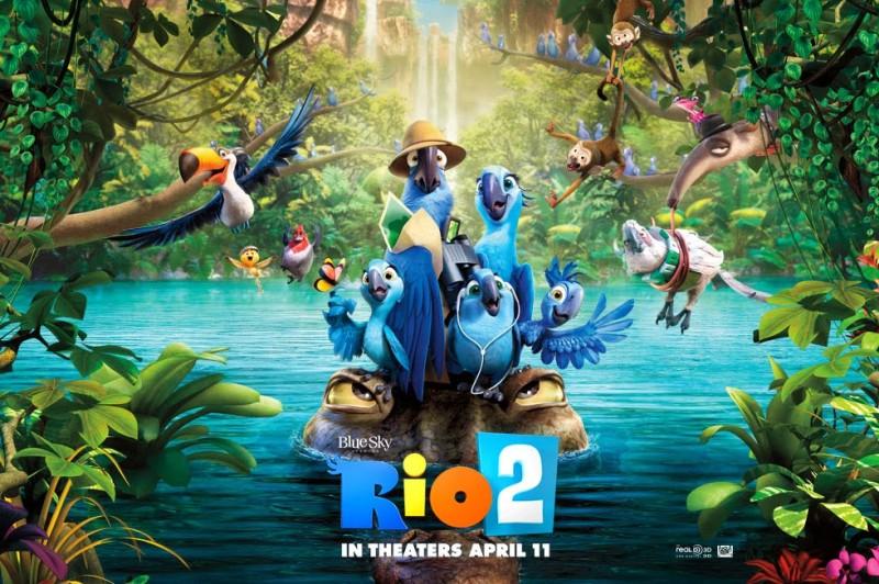 Estreno de la semana en el cine: Rio 2 - pelicula-Rio-2-800x532