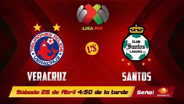 Santos vs Veracruz en vivo, Jornada 17 Clausura 2014 - santos-vs-veracruz-en-vivo-televisa