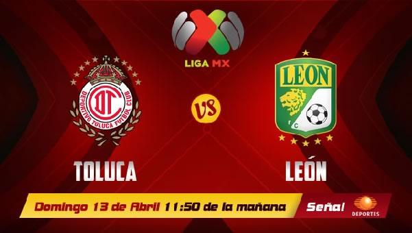 Toluca vs León en vivo, Jornada 15 Clausura 2014 - toluca-vs-leon-en-vivo-televisa-2014