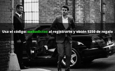 Uber y WebAdictos te regalan $250 para que te transportes como un VIP