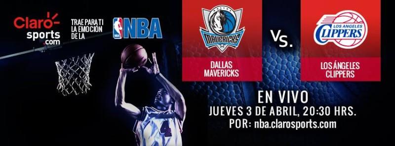 Ver NBA en vivo: Mavericks vs Clippers - ver-nba-en-vivo-800x296