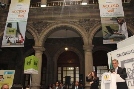 El proyecto de Internet gratis en áreas públicas del DF ya empezó a operar