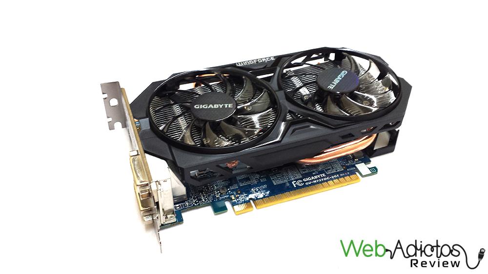 Gigabyte GeForce GTX 750 Ti WindForce [Reseña]