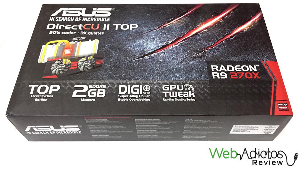 Tarjeta gráfica ASUS Radeon R9 270X DirectCU II TOP [Reseña] - 211