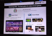 Pantallas Samsung UHD curvas llegan a México - Pantalla-Serie-HU9000-modo-y-panel-futbol