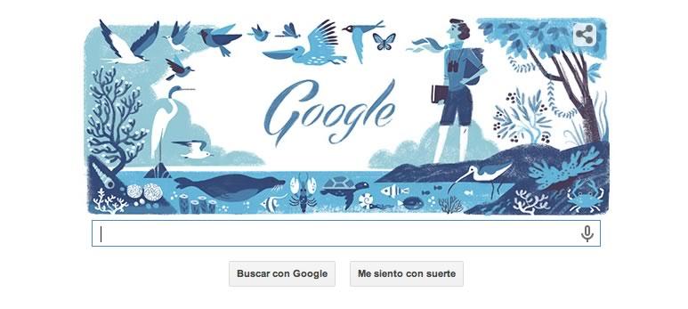 Rachel Louise Carson, en el Doodle de Google de hoy - Rachel-Louise-Carson-Doodle