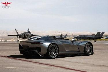 Rezvani BEAST, el auto deportivo con piezas impresas en 3D - Rezvani-Beast-Airfield