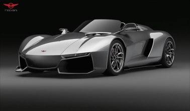 Rezvani BEAST, el auto deportivo con piezas impresas en 3D - Rezvani-Beast-Windshield