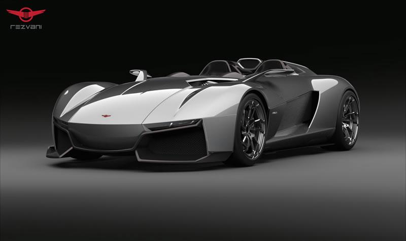 Rezvani BEAST, el auto deportivo con piezas impresas en 3D - Rezvani-Beast