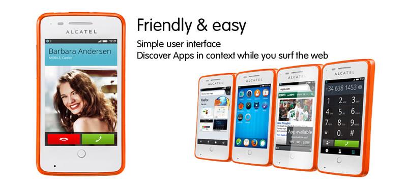 Alcatel OneTouch Fire el primer smartphone con Firefox OS en Telcel - alcatel-onetouch-fire-firefox-os