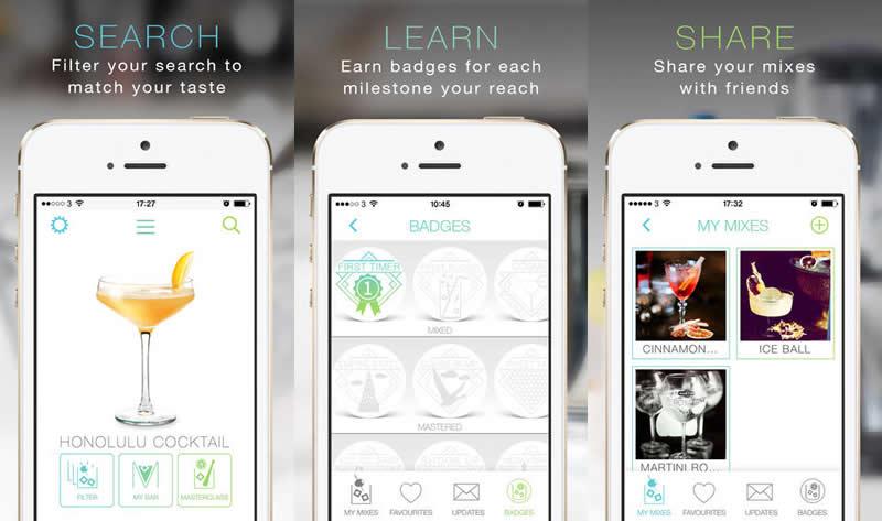 Aprende cómo preparar cócteles con Mixed Coctails, la nueva app de Bacardi - app-preparar-cocteles