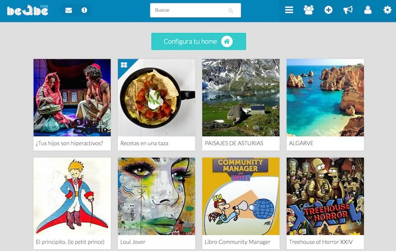 beQbe, la red social en español que debes conocer - beQbe-red-social