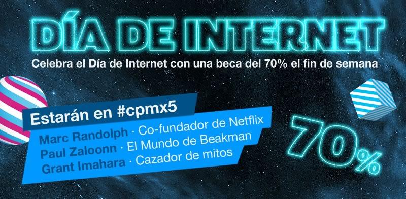 Compra tu entrada a Campus Party con un 70% de descuento ¡Solo este fin de semana! - campus-party-mexico-descuento