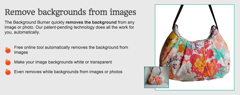 eliminar fondo fotos background burner Quitar el fondo de fotos es muy fácil con Background Burner