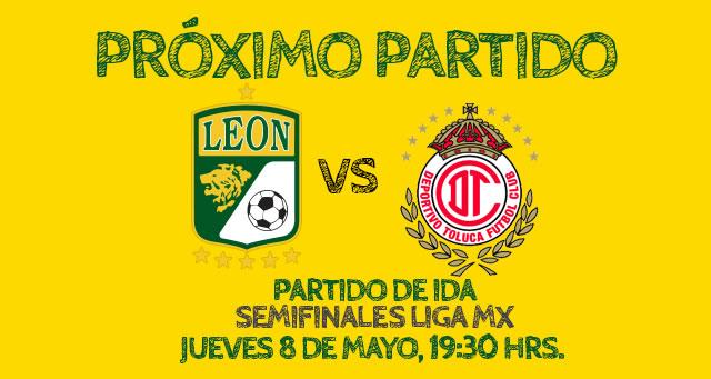 León vs Toluca en vivo, Semifinal Clausura 2014 (Partido de ida) - leon-vs-toluca-en-vivo-semifinal-unotv