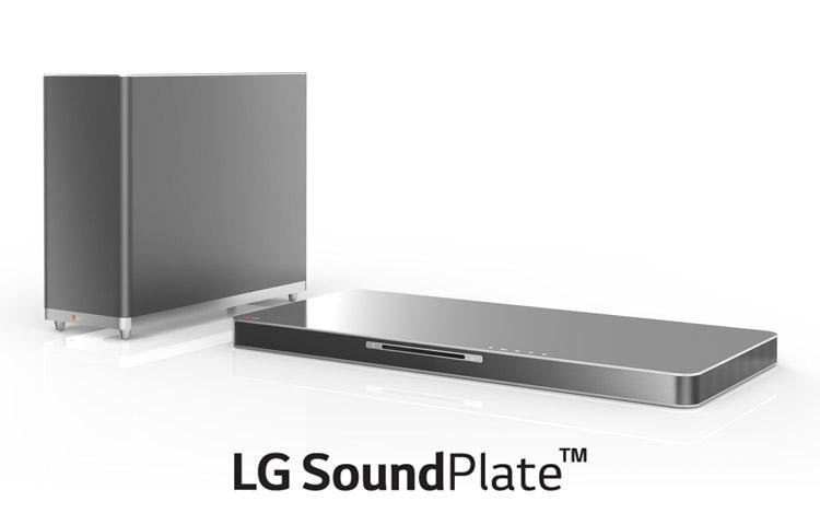 lg soundplate LAB540 LG SoundPlate LAB540W, un complemento ideal para tu televisor