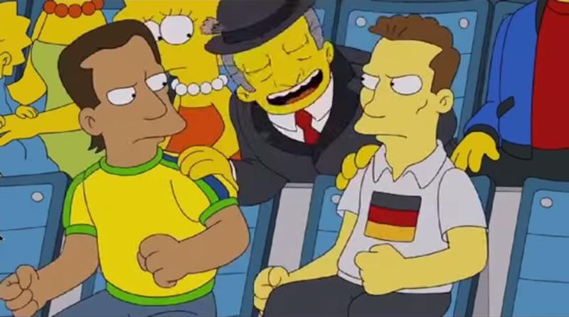 Los Simpsons en el Mundial de Brasil 2014 ¡No te lo pierdas! - los-simpsons-en-el-mundial-brasil-2014