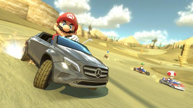 Mario Kart 8 recibe un DLC patrocinado de Mercedes-Benz - mario_kart_8_mercedes_benz_dlc1
