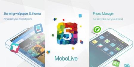 Mobolive, te permite personalizar tu android y aplicarle temas [Reseña]