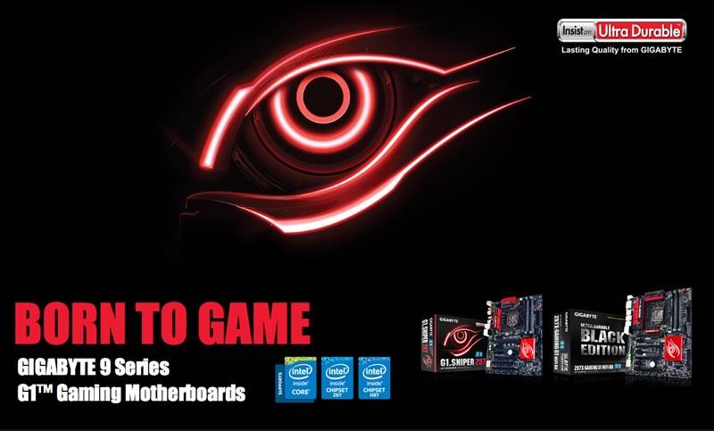 GIGABYTE presenta su linea de motherboards Serie 9 Z97 y H97 - motherboard-gigabyte-g1-gamming