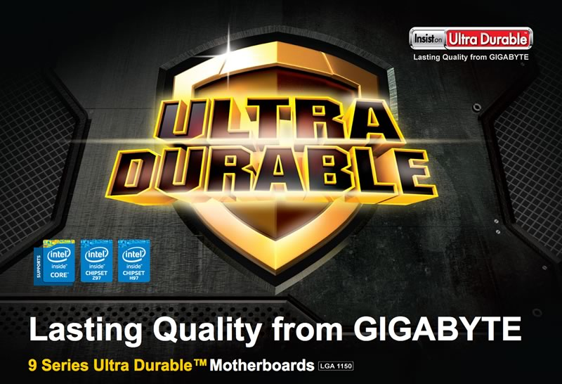 GIGABYTE presenta su linea de motherboards Serie 9 Z97 y H97 - motherboard-gigabyte-ultradurable-serie-9