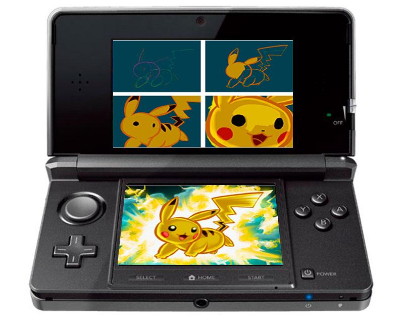 Dibuja a tu Pokémon favorito en tu 3DS con la Pokémon Art Academy - pokemon-art-academy