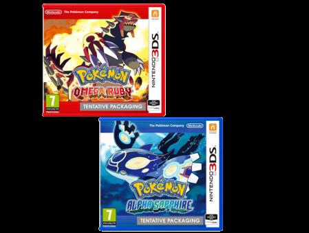 Se anuncia remake de Pokemon Ruby y Sapphire