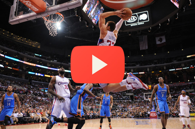thunder vs clippers.nba en vivo 800x532 Ver playoffs de la NBA en vivo: Clippers de Los Angeles vs Oklahoma City Thunder