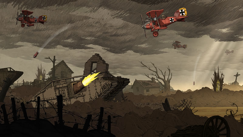 valiant hearts great war Valiant Hearts: The Great War ya tiene fecha de salida