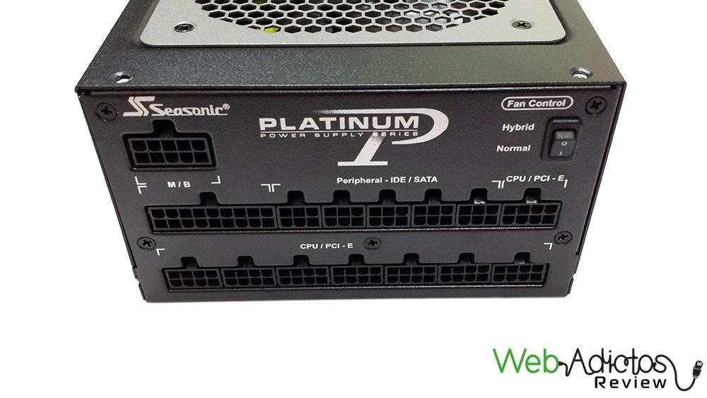 Fuente de poder Seasonic Platinum 1200W [Reseña] - 11