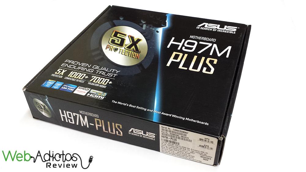 214 Motherboard ASUS H97M Plus [Reseña]