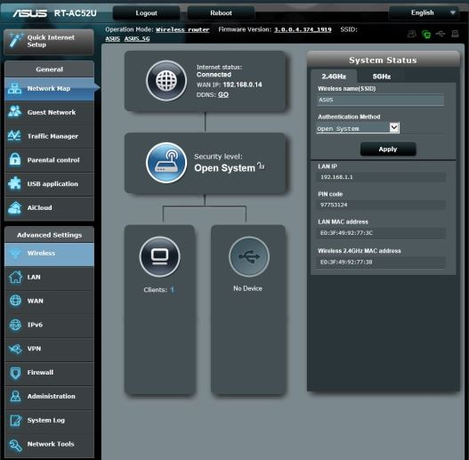 Router ASUS RT-AC52U [Reseña] - Panel-1