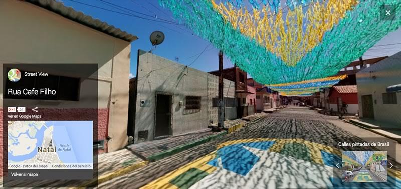 Visita los estadios del Mundial Brasil 2014 virtualmente - Rua-Cafe-Filho